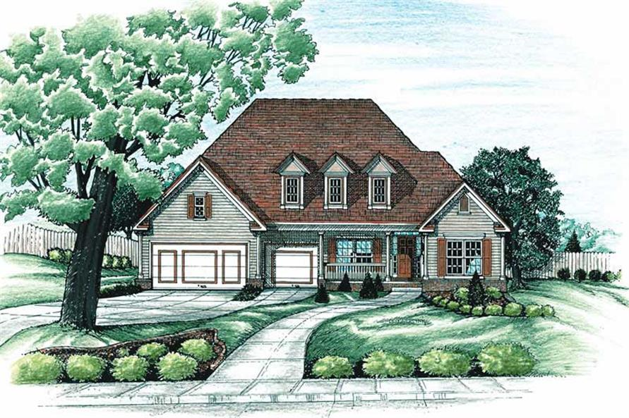 Main image for house plan # 6268