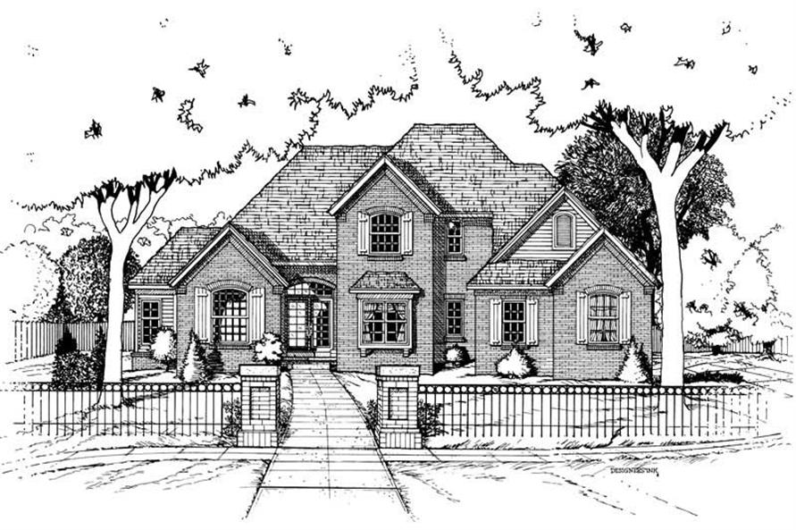 Main image for house plan # 6273