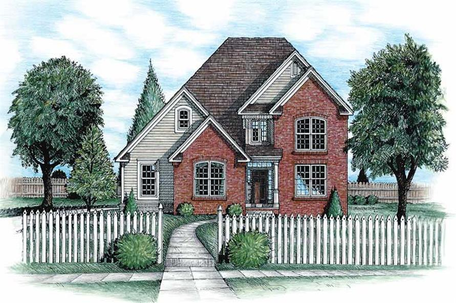 Main image for house plan # 6263