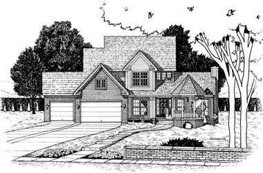Main image for house plan # 6283