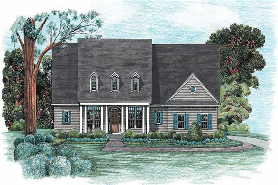 Main image for house plan # 6497