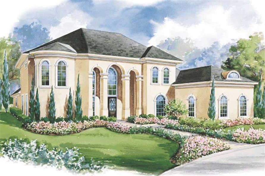 Main image for house plan # 6465
