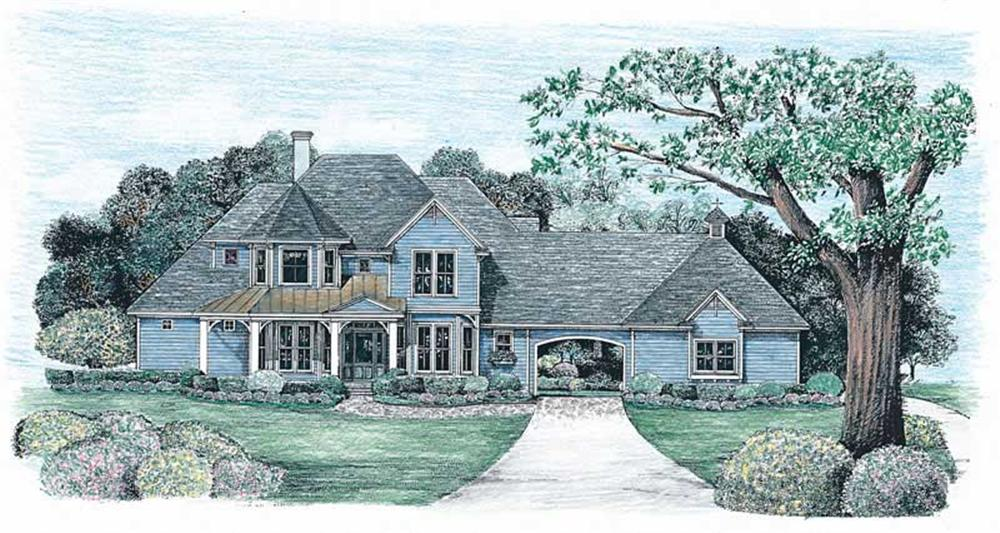 Main image for house plan # 6513