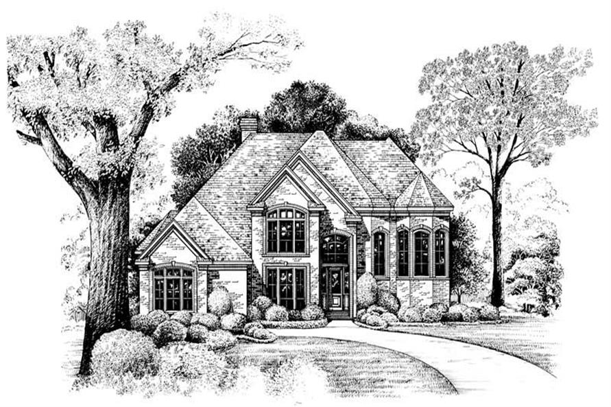 Home Plan Other Image of this 5-Bedroom,3517 Sq Ft Plan -120-1980