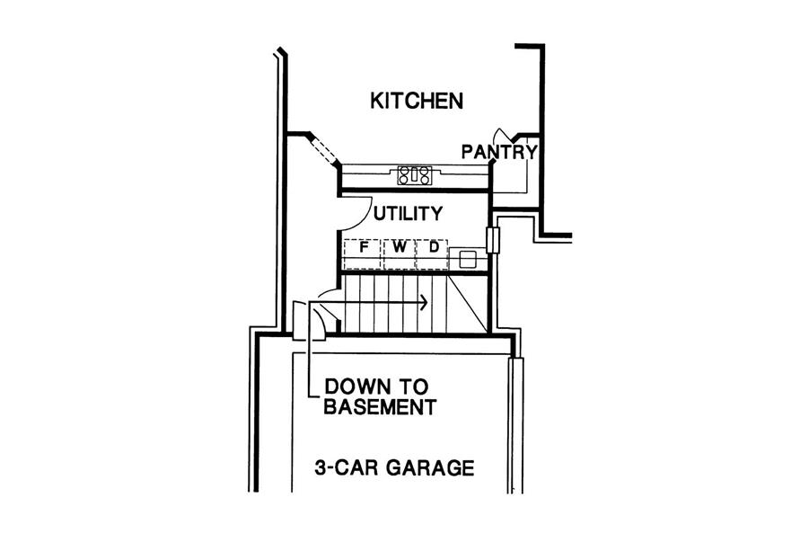 Garage, Basement, Kitchen