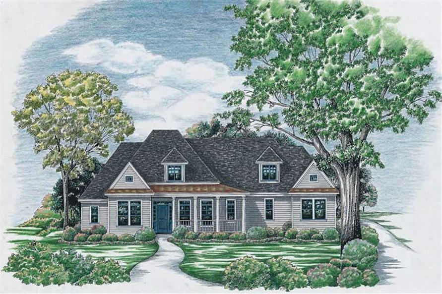 Main image for house plan # 6479