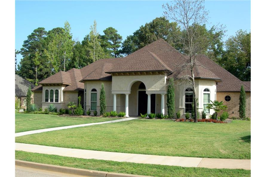 Right Side View of this 3-Bedroom,2517 Sq Ft Plan -2517