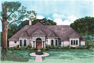 Main image for house plan # 6507