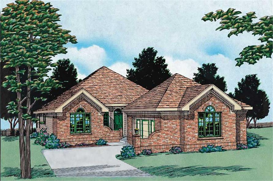 Main image for house plan # 6182