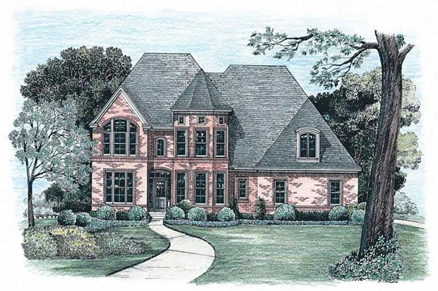 Main image for house plan # 6504