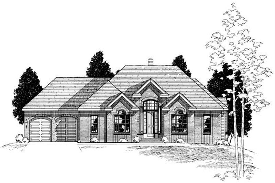Main image for house plan # 6159