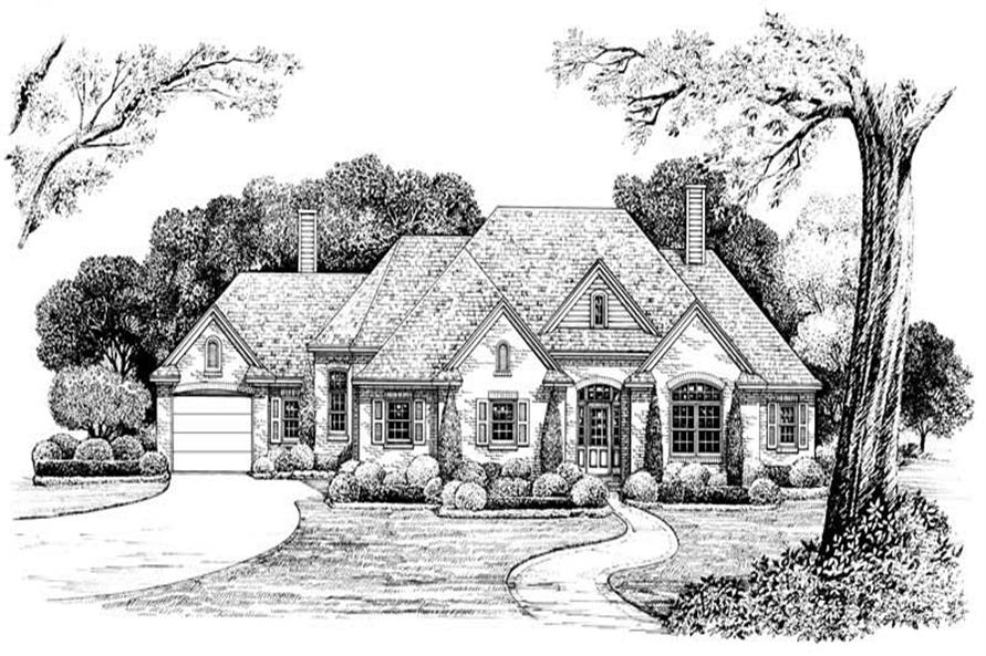 Rendering of this 3-Bedroom,2331 Sq Ft Plan -2331