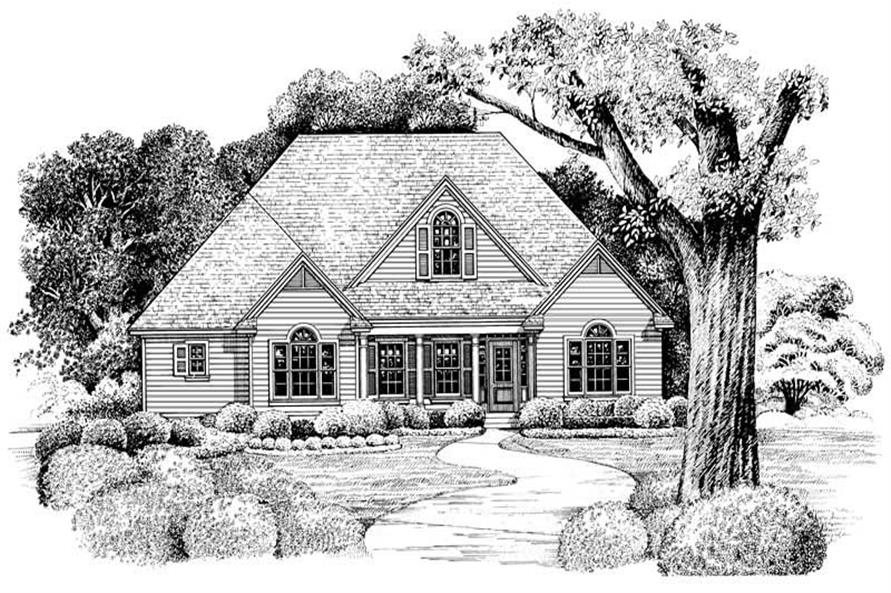 Rendering of this 3-Bedroom,1819 Sq Ft Plan -1819