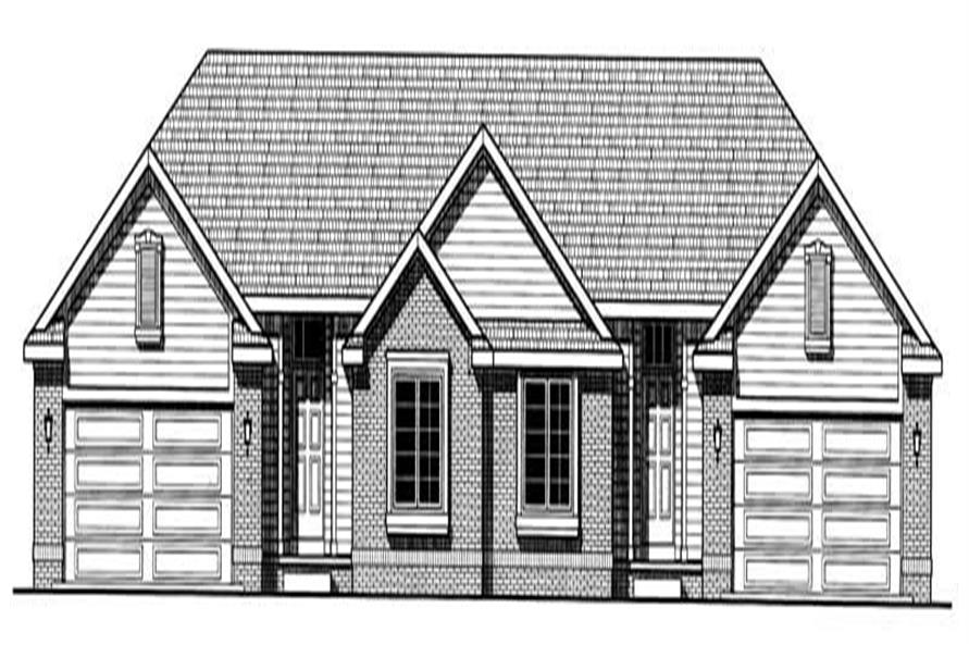 Main image for house plan # 6220