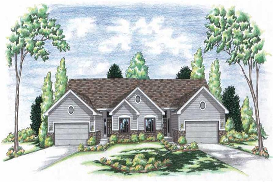 Main image for house plan # 6229