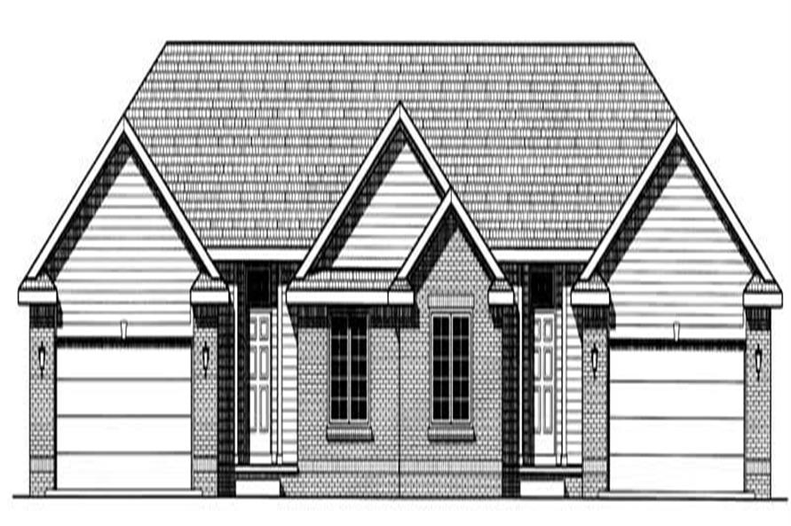 Main image for house plan # 6230
