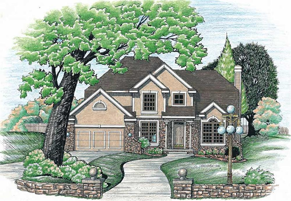 Main image for house plan # 6210