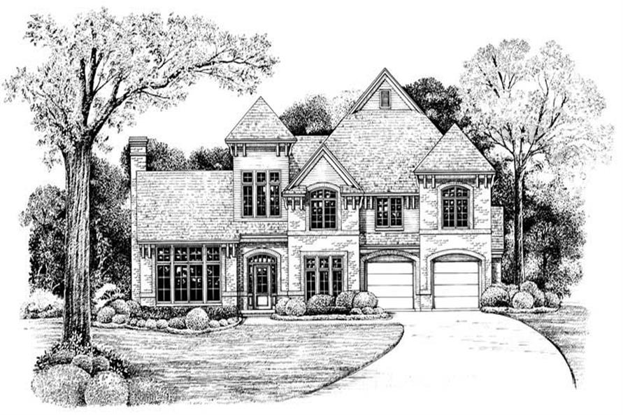 Main image for house plan # 6512