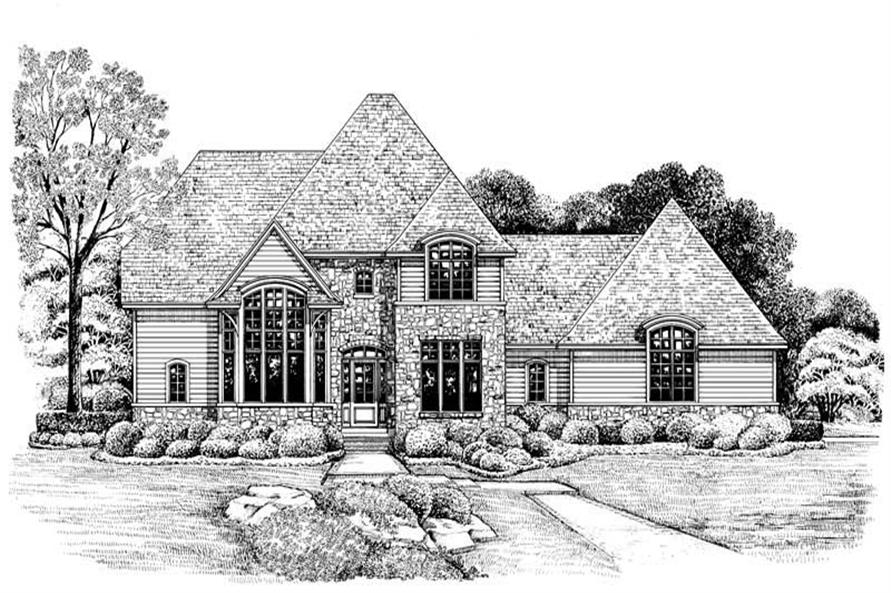 Rendering of this 4-Bedroom,2508 Sq Ft Plan -2508
