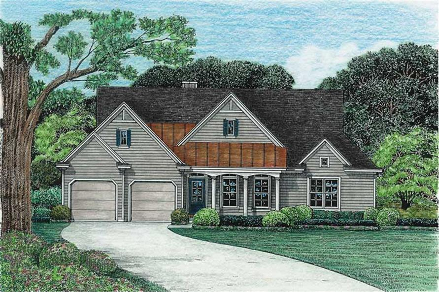 Main image for house plan # 6509