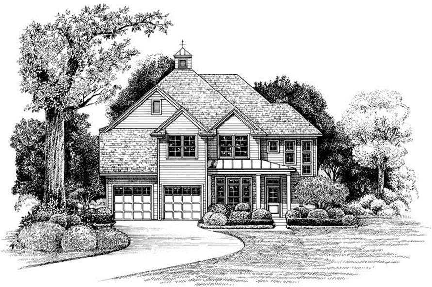 Main image for house plan # 6505