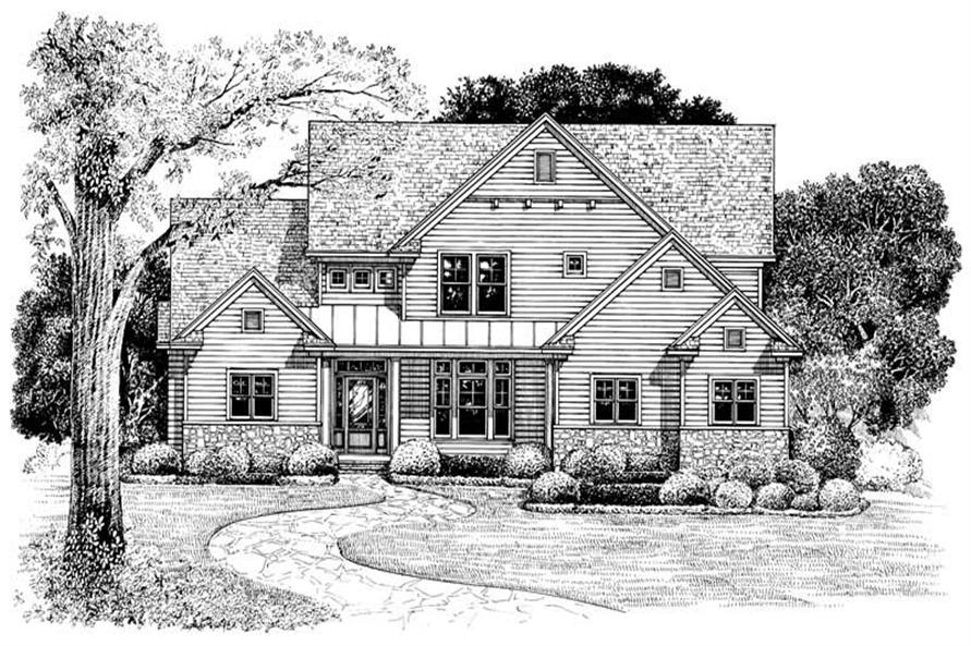 Main image for house plan # 6501