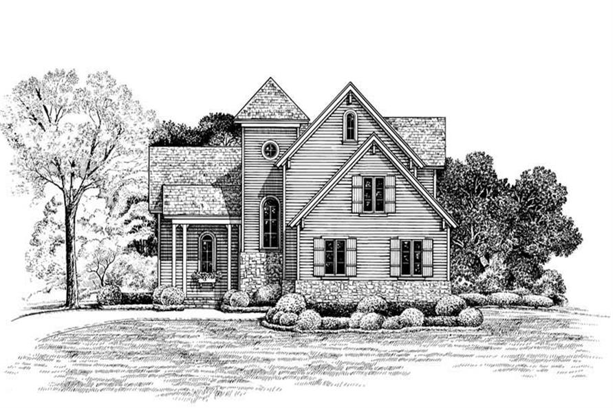 Main image for house plan # 6500