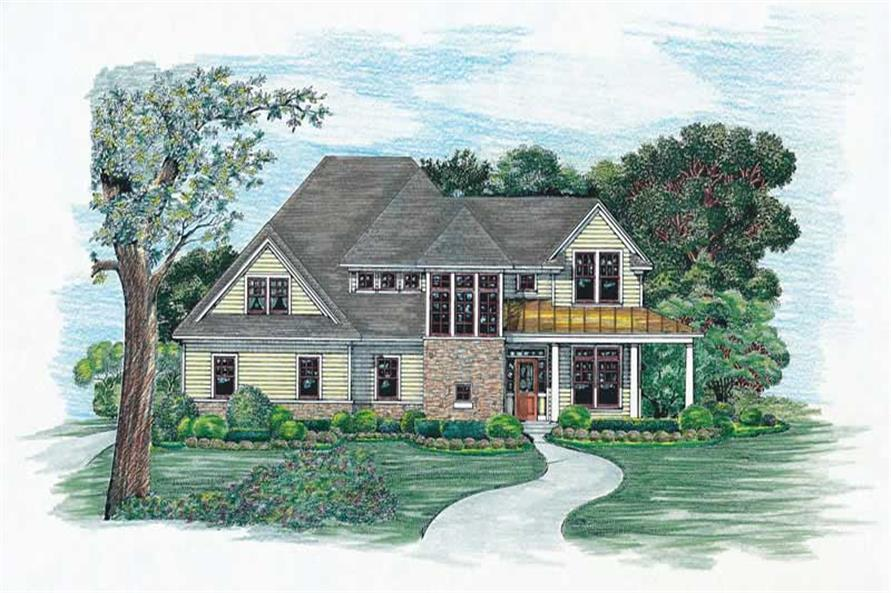 Main image for house plan # 6496