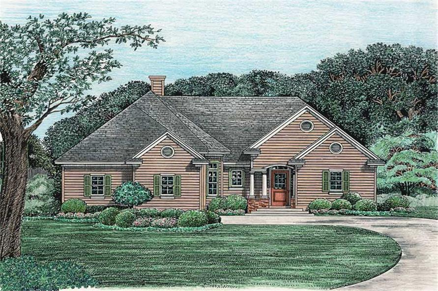 Main image for house plan # 6495