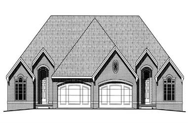 Main image for house plan # 6233