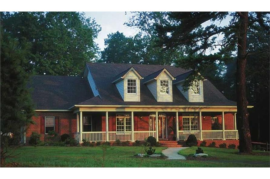4-Bedroom, 3072 Sq Ft Country Home Plan - 120-2041 - Main Exterior