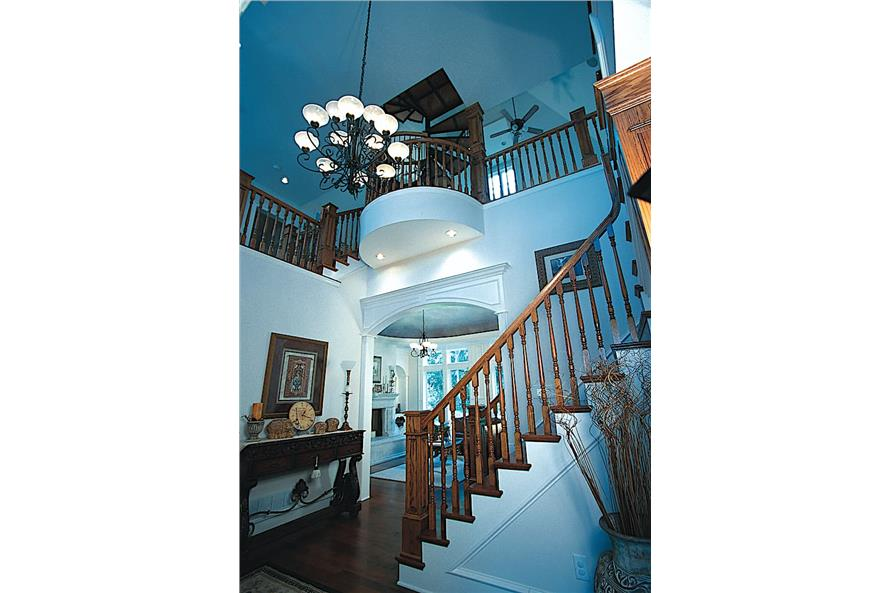 Entry Hall: Staircase of this 4-Bedroom,3335 Sq Ft Plan -120-2042
