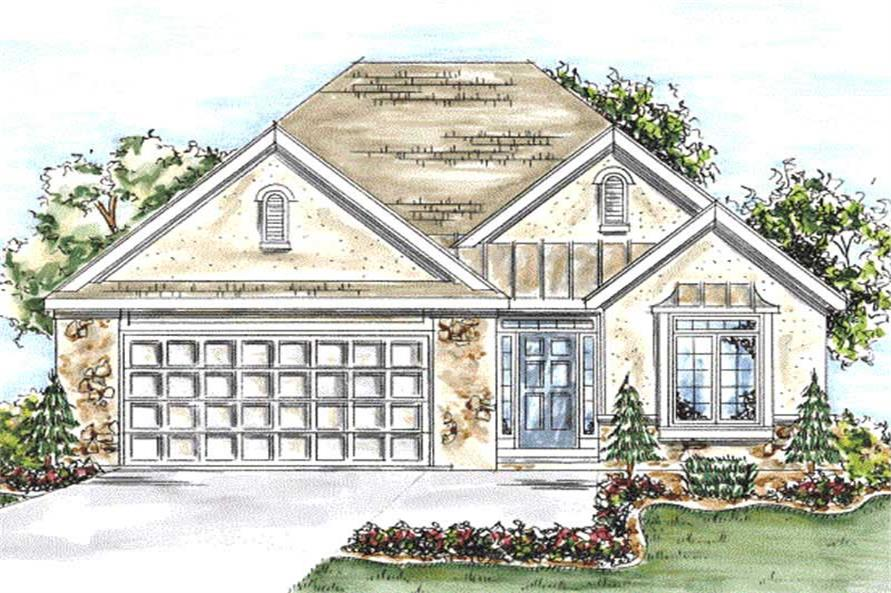 Main image for house plan # 11698