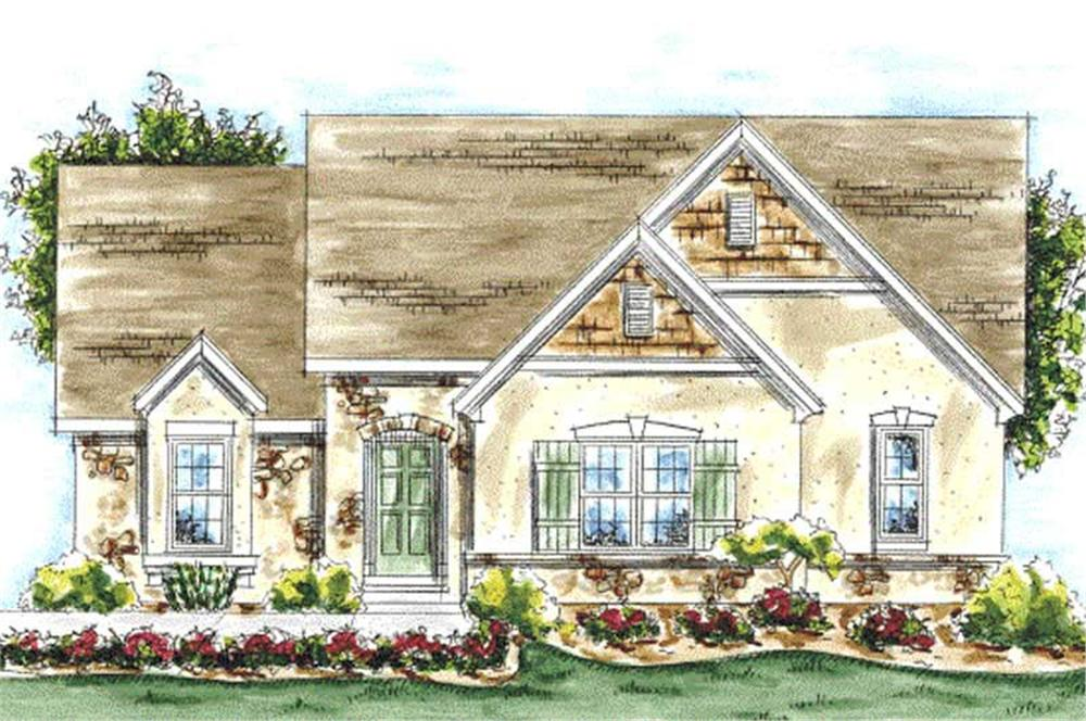 Main image for house plan # 11715