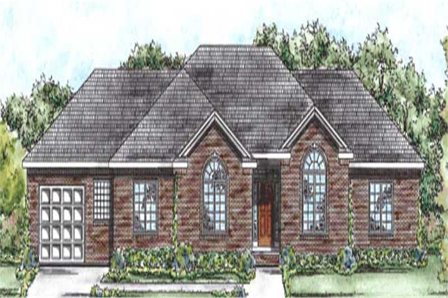 Main image for house plan # 11682