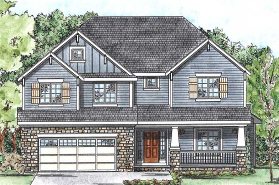 Main image for house plan # 11688