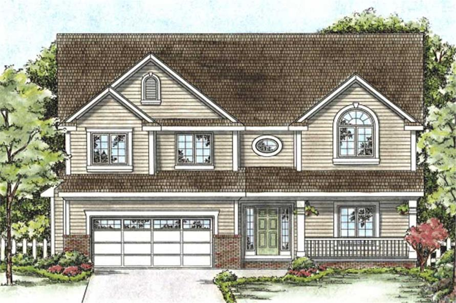 Main image for house plan # 11693