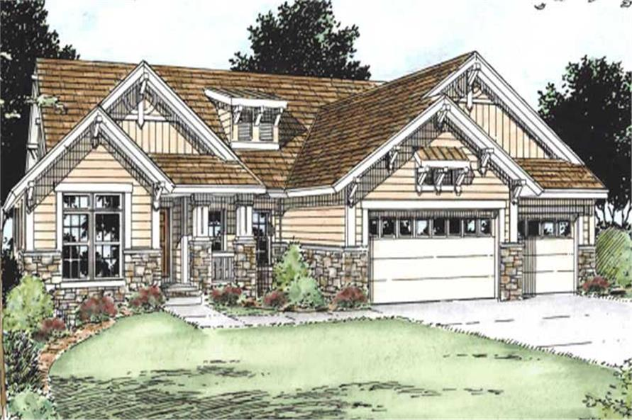 Main image for house plan # 11592
