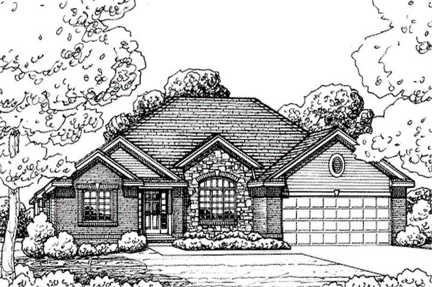 Main image for house plan # 11612