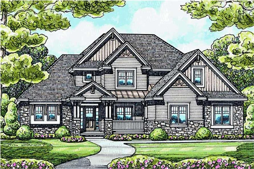 Main image for house plan # 11579