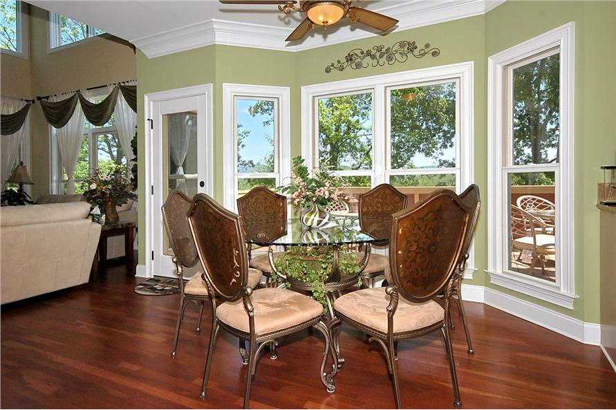 Kitchen: Breakfast Nook of this 3-Bedroom,2476 Sq Ft Plan -2476