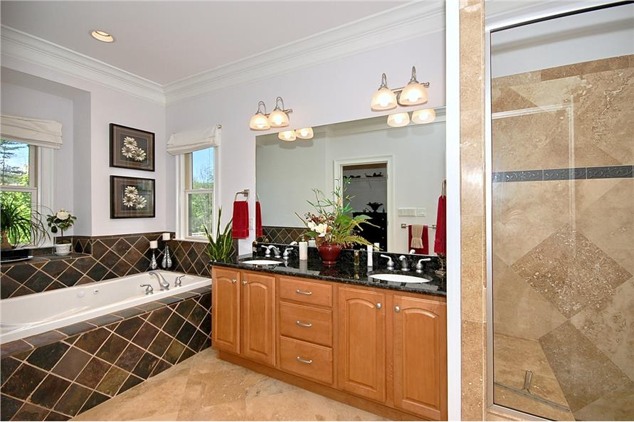 Master Bathroom of this 3-Bedroom,2476 Sq Ft Plan -2476