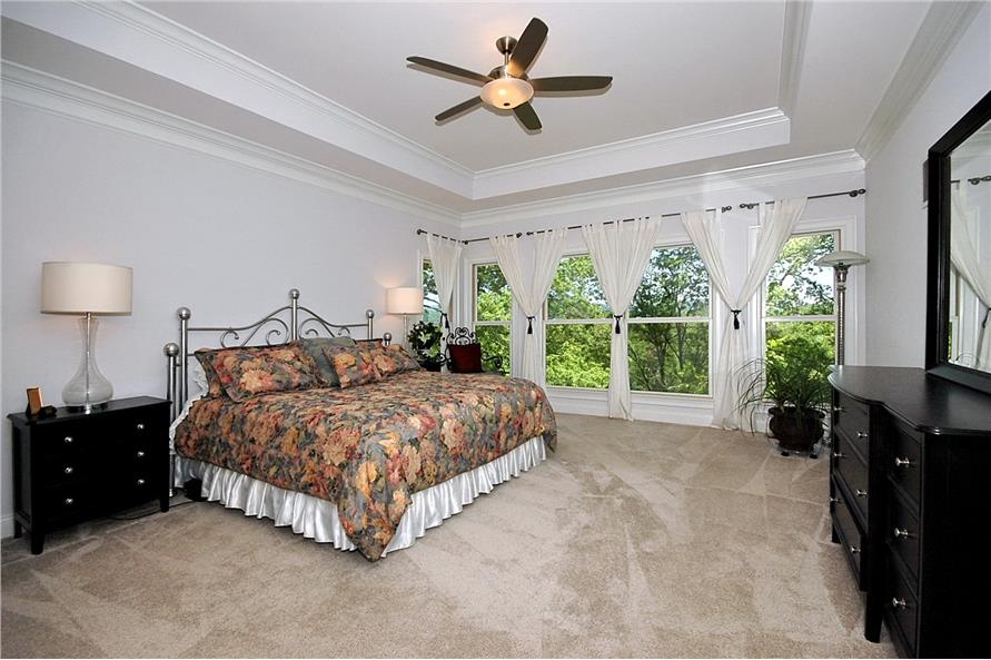 Master Bedroom of this 3-Bedroom,2476 Sq Ft Plan -2476