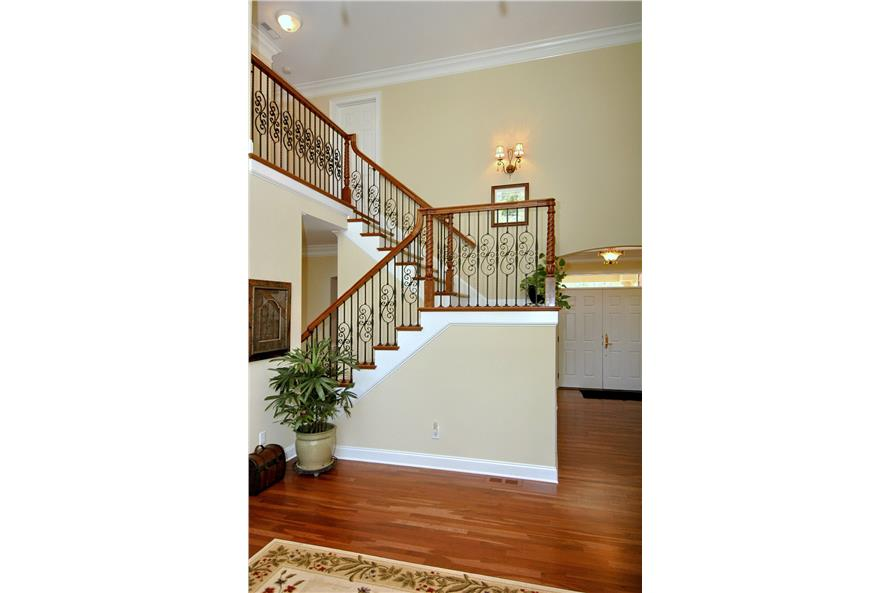 Entry Hall: Staircase of this 3-Bedroom,2476 Sq Ft Plan -2476