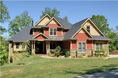 3-Bedroom, 2476 Sq Ft Country House Plan - 120-2084 - Front Exterior