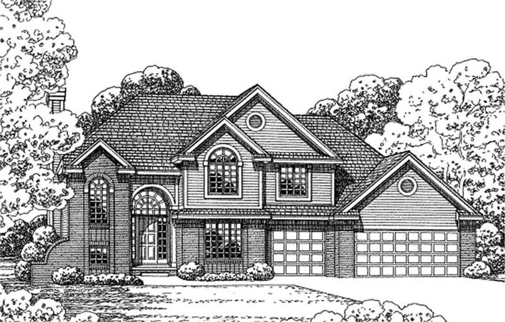 Main image for house plan # 11615