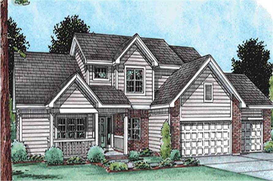 Main image for house plan # 11549