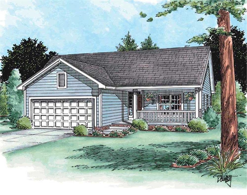 Main image for house plan # 11555