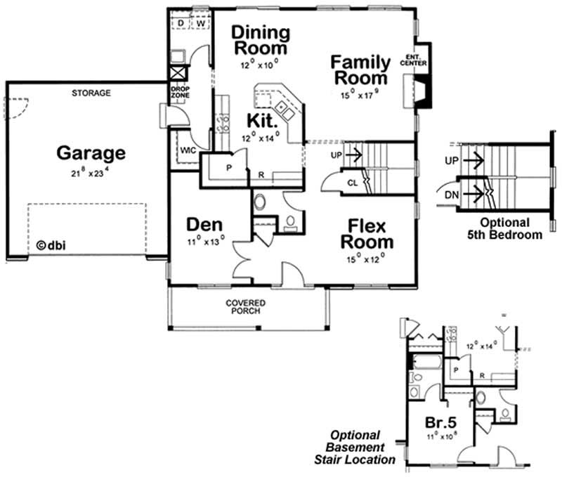 House plan 120 2100 4 bedroom 2549 sq ft country for 2100 sq ft house plans