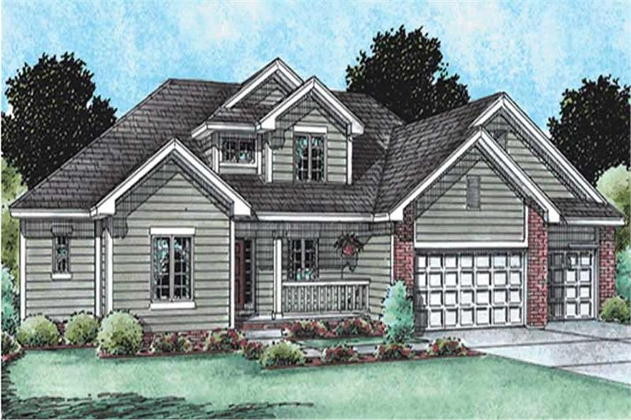 Main image for house plan # 11565